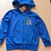 Синя толстовка, тканина двунитка, розмір 86/92, бренд lupilu Геpманія
