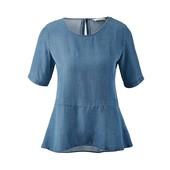 Мой пролет: Блуза из облегченного джинса, (германия), размер наш 52-54