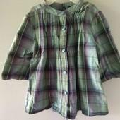 Gap красивая рубашка блузка сорочка блуза девочке 6-7 л 116-122 см новая