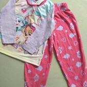 Отличный фирменный костюм для дома пижама от Nickelodeon Новый