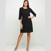 Esmara платье под шифон чёрное евро 38+6, 42+6