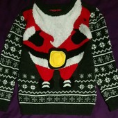 Новогодний свитер с мелодией