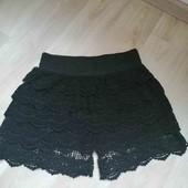 Кружевные /стильные шорти/H&M:S-M!!!