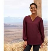 Нежнейшая блуза,100% вискоза Esmara размер евро 36-38,упаковка!