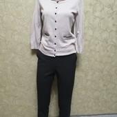 Собираем лоты!! Комплект брюки на резинке с карманами +кофта, размер s-xs
