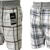 Распродажа❣Муж.стильн.шорты на манжетах,карманы.р.м-3хл.Коттон,трикотаж.резинка.Супер предложение!❤