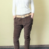 Вельветовые брюки от Zuiki (Италия), размеры наши: 48-50 (42 евро)