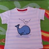 Не пропустите!!!Красивая новая футболочка на малыша 3-6 мес