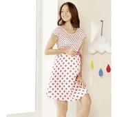 Esmara Германия Летнее шикарное платье для беременных и кормящих 100% коттон