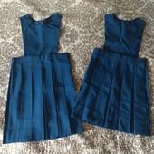 Guilford сарафан школьный трансформер юбка в школу девочке 7-8-9-10 л 122-128-134-140см 45% шерсть