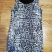 платье змеиный принт пайетки