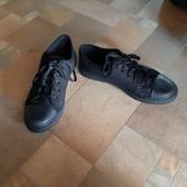 Черные кеды стелька 25 см