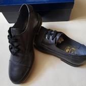 Дорогие, брендовые кожаные туфли Gallucci 33р