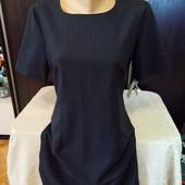 Классическое платье. Размер 12. 60% шерсти