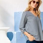 Ультра удобная блуза из чистого хлопка esmara размер евро 40