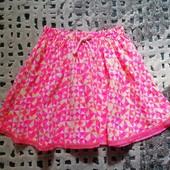 яркая фирменная юбка от Рерсо! на 4-5 лет рост 110! 100% вискоза