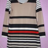 Трикотажное платье р.52-54