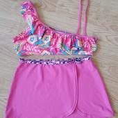 Верх от купальника+ юбка пляжная