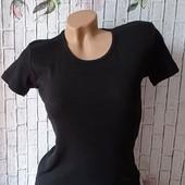 Жіноча однотонна термо футболка Beyonce ✿ розмір L