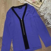 лаконичная лавандовая блуза Beyou размер С-М