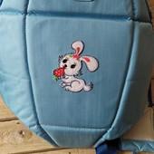 Детская переноска, рюкзак, кенгурушка голубая для мальчика