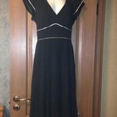 Черное платье миди principles в горошек р.12 L