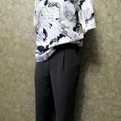 Собираем лоты!!! Комплект брюки на резинке с карманами +блуза, размер 14