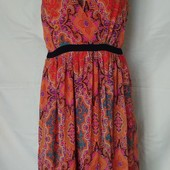 Лёгенькое фирменное платье от Peacocks,12p(L)