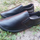 Новые красивые,мягкие удобные слипоны туфли