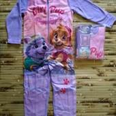 Флисовая пижама-кигируми Nickelodeon 110-116.