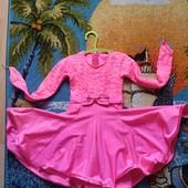 Платье для танцев 4-5 лет