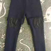Лосины на флисе+ свитеров с паетками.8-9 лет