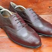 Оригинальные броги,туфли,туфлі,оксфорди