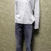Собираем лоты!!! Модный комплект джинсы с лампасами +свитерок, размер M-L