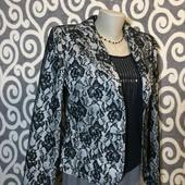 Шикарный, гипюровый пиджак Calyx для модниц . В состоянии Новой вещи