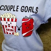 Собираем лоты!! Классный комплект спортивные штаны +футболка с принтом, размер s-m