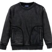 Чорний светрик на мікрофлісі на хлопчика, розмір 98/104, бренд lupilu Геpманія