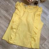 В идеале желтая блуза