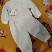 Пышная махровая пижамка