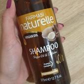 Шампунь для окрашенных волос с аргановым маслом и кофеином Farmasi