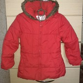 Куртка на флисе брендовая в идеале р.110 см