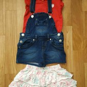 Лот одежды на девочку 2-3,5года