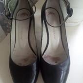 Туфли, кожа 37р. (24см.)