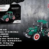 Конструктор металлический Трактор 477 деталей