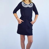 Новое!Платье в школу и не только! Цвет-темный бордо