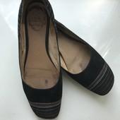 Кожаные замшевые туфли Carnaby размер 38 37