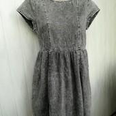 Модное платье котон варенка р.42-44