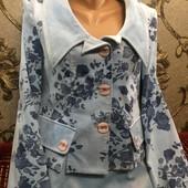 Не пропустите) Нежно-голубой нарядный костюм (Белорусь)