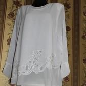 роскошные блузоны батал, 67см ширина ПОГ. шифон, качество супер!!! отличный подарок на праздники!