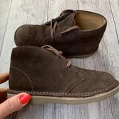 Полностью кожаные Деми ботиночки Star-rite 27 размер стелька 17 см
